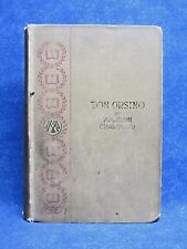 DON ORSINO By F. MARION CRAWFORD, 1892, Hardcover, Macmillan and Co.