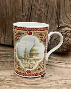 Vintage James Sadler Landmarks London St. Paul's Cathedral Coffee Tea Cup Mug