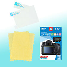 Canon EOS 80D 70D Top Back LCD Screen Protector Scratch Resistance JJC LCP-70D