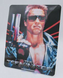 THE TERMINATOR - Glossy Fridge or Bluray Steelbook Magnet Cover (NOT LENTICULAR)