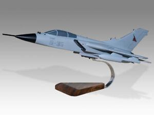 Panavia Tornado IDS Italian Air Force Solid Kiln Dried Mahogany Desktop Model