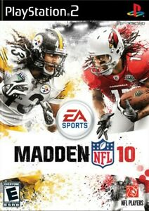 Madden NFL 10 - Playstation 2 Game Complete