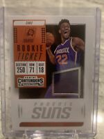 2018-19 Panini Contenders Rookie Ticket Jersey #32 Deandre Ayton Suns