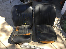 MGB, MGB GT, Original Early Seat Set, Left & Right w/ Runners & extras Series 1
