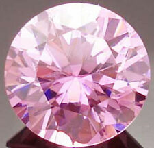 9 mm 4.7 cts Round Brilliant Russian Pink CZ AAAAA