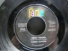 CANDI STATON Sweet feeling / evidence FAME 1466 USA