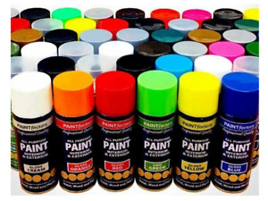 Color it Spray Paint  in Different Colours-