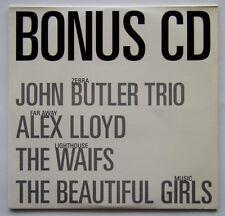 WHO WEEKLY - BONUS CD - JOHN BUTLER TRIO, ALEX LLOYD, WAIFS... CARD SLEEVE CD