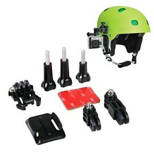 Helmet Side Mount Kits 3 Way Adjustable 3M Adhesive for Go pro Gopro Hero 4 3+ 3