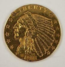 "1911-US $2.50 Gold Indian Coin ""polished""    L6664"