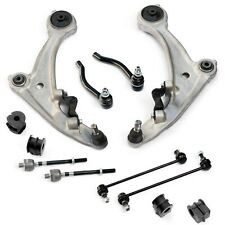 12PC Front Suspension Kit - Control Arm Tie Rod Link Bushing - for Nissan Altima