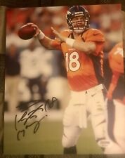 Peyton Manning autograph 8 X 10 signed photo PSA Denver Broncos