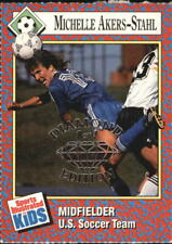 1991 Sports Illustrated for Kids NSCC Diamond Ed  #299 Michelle Akers/1 F19577