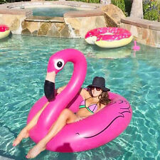 Giant Inflatable Pink Flamingo Pool Float Best Blowup Pool Toy Floaties Flamingo