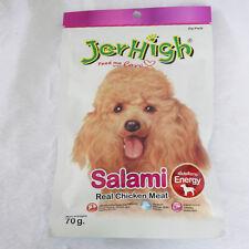 1pc *70g JerHigh Chicken Dog Puppy Treats Salami Energy Bone Teeth Brain