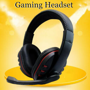 Stereo Video Gaming Headset For Xbox One PS4 Nintendo Switch & PC Mic Headphones