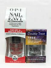 OPI Nail Envy SRF62 - For Dry & Brittle Nails 0.5oz + FREE DRIPDRY 0.3oz