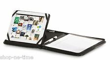 Gemline Prelude Simulated Leather iPad/Tablet Stand Zippered E-Padfolio - New