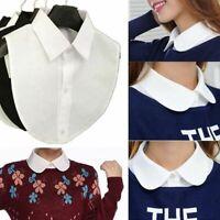 les femmes amovible la dentelle de coton vêtements, accessoires de faux col