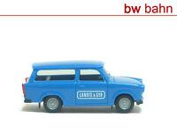 Herpa H0 1:87 Trabant/Trabi 601 Kombi Landis & Gyr Neu