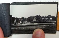 RARE Miniature Leather Booklet with Photo Little League Baseball 1950 Waverly NY