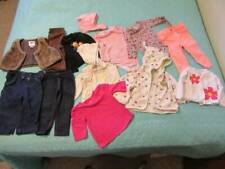 13 piece lot of baby girl clothing size 12-18 months - very good condition!