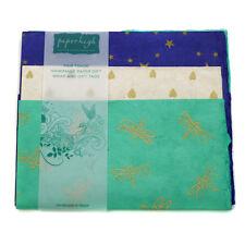 Fair Trade Lokta Paper Three Sheet Gift Wrap Pack GWP37