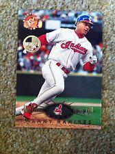 + + MANNY RAMIREZ 1995 SC membri solo Baseball CARD # 132-Cleveland INDIANI + +