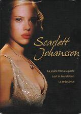 COFFRET 3 DVD SCARLETT JOHANSSON LA SEDUCTRICE-LA JEUNE FILLE A LA PERLE-LOST IN