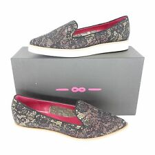 181 Alberto Gozzi Ladies Shoes Slipper Ballerinas Moccasins Size 37 Np 199 New