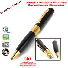 Pen Mini HD Spy Hidden Camera Camcorder Audio Video Photo Surveillance Recorder