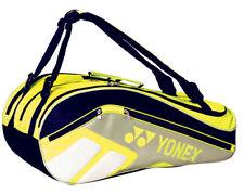 YONEX Tennis Badminton Bag 3 Packs Rucksack Yellow Racquet Racket NWT 69BR008U