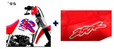 KIT SEAT cover & TANK COVER HONDA XR250, XR 250 R 1995 95 SHIPPING WORLDWIDE