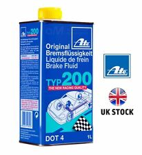 ATE Typ 200 DOT4 Performance Racing Brake Fluid (Replaces Super Blue) FREE P&P