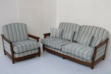 Vintage ERCOL SOFA & ARMCHAIR EXCELLENT CONDITION,  UNUSED NEW COVERS