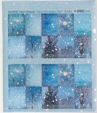 Nederland V2530-2539 vel Decemberzegels postfris 2007