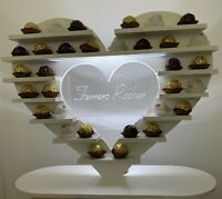 Ferrero Rocher Heart Stand For Hire With Chocolates - Wedding Or Any Function