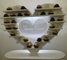 Ferrero Rocher Heart Stand For Hire, Wedding Or Any Function