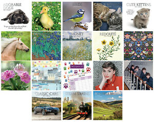 2021 Large Month to View - Wall Calendars - Organisers - Planners - 30cm x 30cm