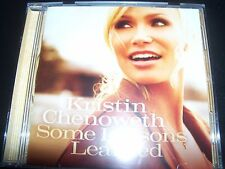Kristin Chenoweth - Some Lessons Learned (Australia) CD - New