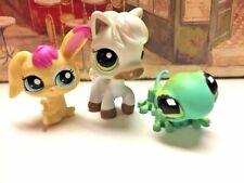 Lot 3 Littlest Pet Shop Lps Pets Gecko