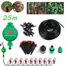 DIY Plant Self Watering Auto Micro Drip Irrigation System Garden 25M Hose Timer