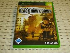 Delta Force Black Hawk Down para Xbox * embalaje original *