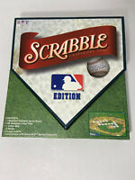 MAJOR LEAGUE BASEBALL SCRABBLE EDITION BOARD GAME HABRO PRE-OWNED COMPLETE VG