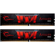G.SKILL F4-3000C16D-16GISB Aegis 16GB (8GBx2) DDR4 3000 MHz Memoria RAM - Nero