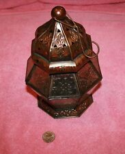 Used made in India Mini Candle Holder Lantern