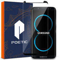 Poetic For Samsung Galaxy S8 [Full Coverage] Tempered Glass Screen Protector BK