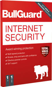 Download BullGuard Internet Security 2021 (1Year 1PC) Genuine Authentic License