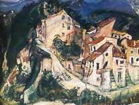 CHAIM SOUTINE LANDSCAPE OF CAGNES ART PRINT POSTER PICTURE HP254