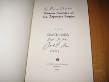 Famous Suicides of the Japanese Empire by David Mura *SIGNED* 1st Edition SC
